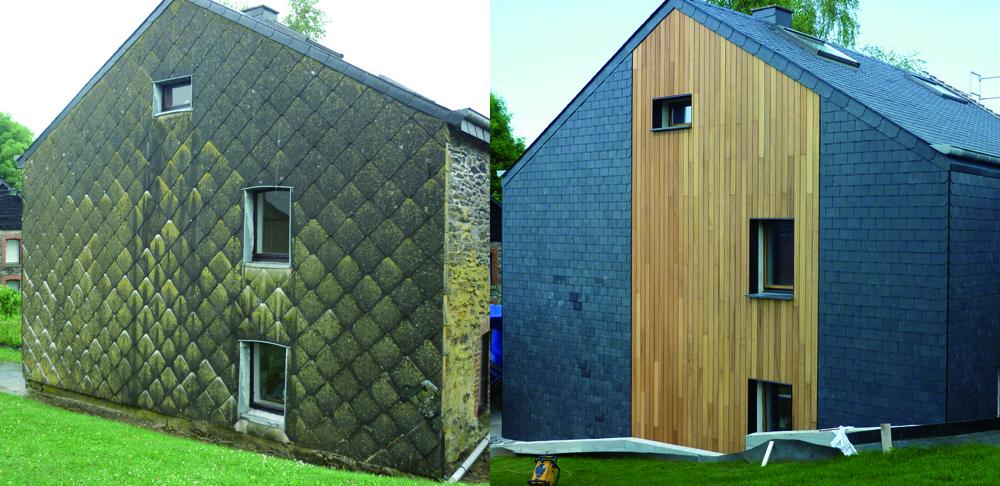 la parqueterie nos r alisations fa ades nouvelle fa ade parquets terrasses fa ades. Black Bedroom Furniture Sets. Home Design Ideas